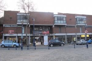 Churchgate facade onto Market Place