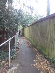 st johns path with railings