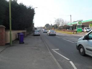 S road NO2 blackspot
